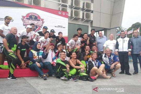 Kejuaraan dunia jetski, atlet Indonesia raih podium ketiga