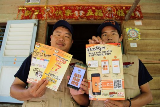 Partisipasi pemilih Singkawang 72,62 persen