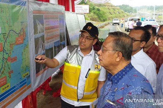 Pembangunan jalan tol Manado-Bitung ditinjau Menko Perekonomian