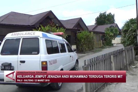 Keluarga jemput jenazah Andi Muhammad terduga teroris MIT