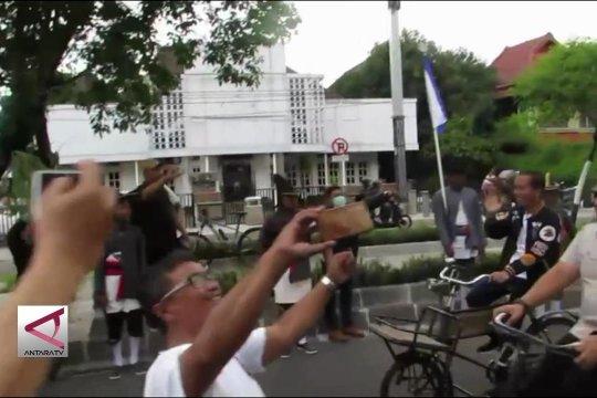 Jokowi ngonthel, sapa pendukungnya di Yogyakarta