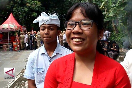 Umat lintas agama doa bersama untuk Pemilu damai