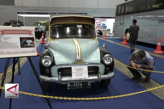 Legenda transportasi Indonesia di Pameran Classic N Unique Bus 2019