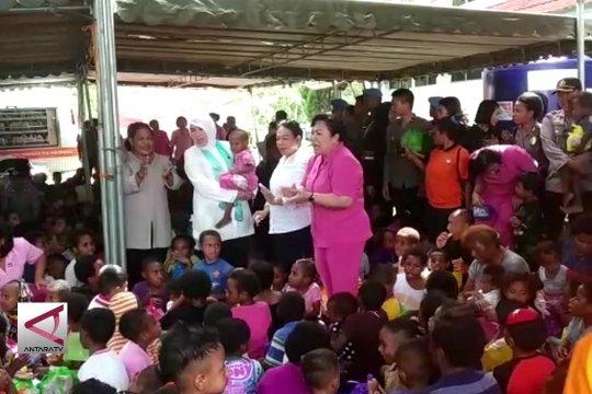287 anak korban banjir Sentani jalani Trauma Healing