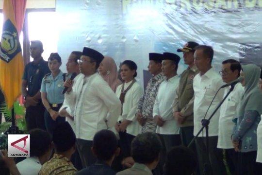 Presiden tinjau pencairan dana bantuan gempa Lombok
