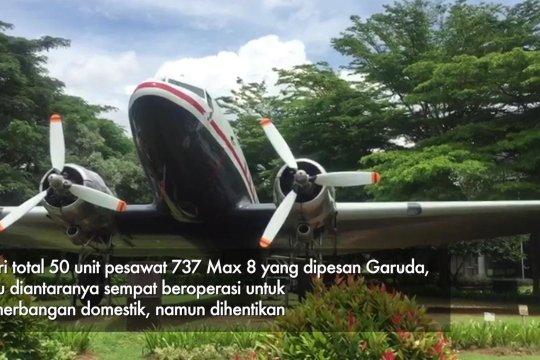 Garuda Indonesia bertemu The Boeing Company bahas pembatalan Max 8