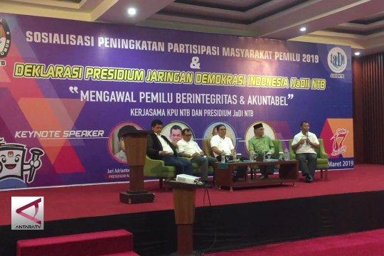 Mantan Komisioner KPU dan Bawaslu NTB awasi pemilu