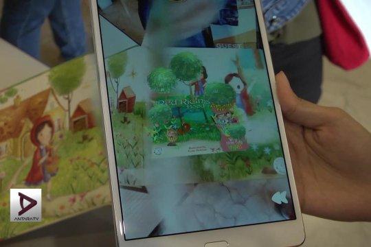 Kembangkan imajinasi dengan buku  augmented reality