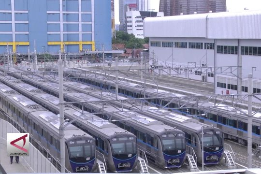 MRT telah kantongi izin operasi sarana prasarana
