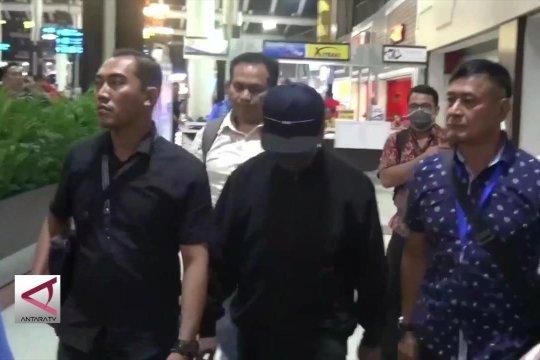 OTT KPK di Surabaya, ketum PPP tiba di bandara Soetta