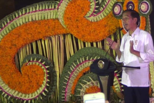 Presiden imbau warga Bali tidak Golput