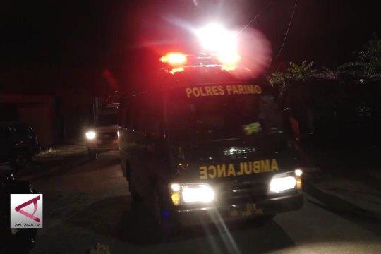 Tiga jenazah teroris MIT  tiba di RS Bhayangkara Palu