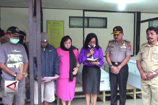 Tim DVI Polda Papua kembali idetifikasi 38 jenazah
