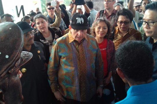 Dubes AS kunjungi Museum Perang Dunia II di Morotai, Maluku Utara