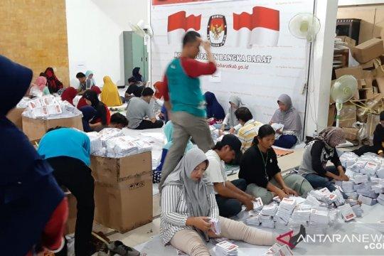 KPU Bangka Barat temukan 1.210 surat suara rusak