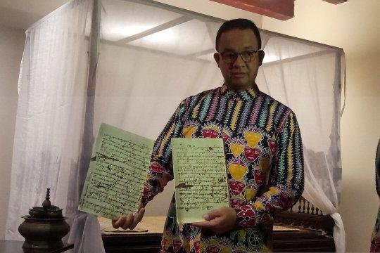 Anies apresiasi pameran Kamar Diponegoro sebagai ruang terbuka publik
