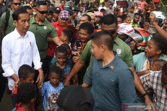 Presiden Jokowi : Cagar Alam Cycloop harus direhabilitasi