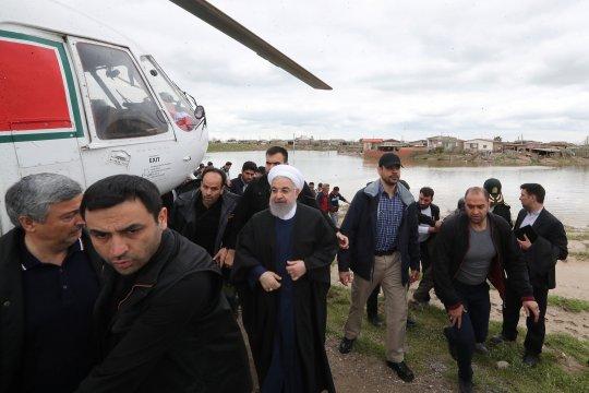 Ketua Parlemen Iran: Penanganan krisis banjir perlu pengerahan upaya