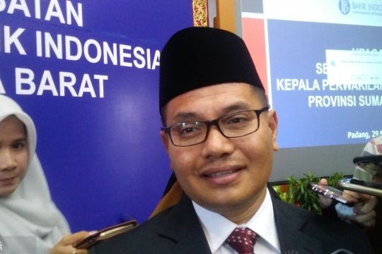 BI : Inflasi Sumatera Barat pada Maret 2019 terkendali