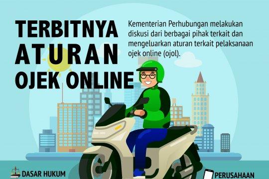 Terbitnya Aturan Ojek Online