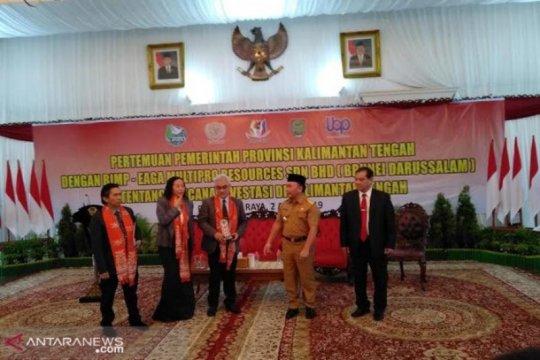Gubernur dukung penuh Brunei Darussalam berinvestasi di Kalteng