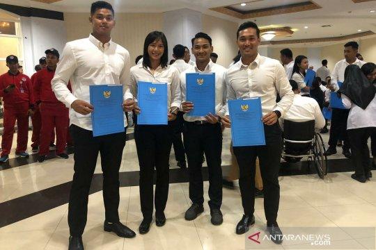Empat atlet berprestasi NTB terima SK CPNS Kemenpora