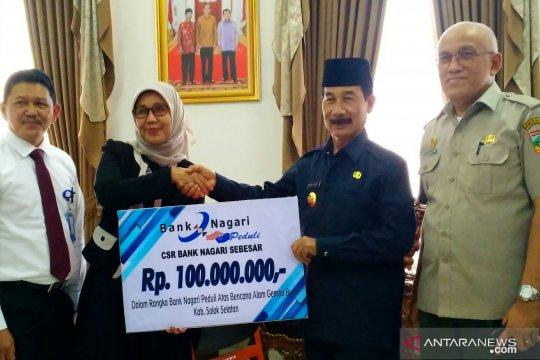 Bank Nagari bantu pengembangan seribu rumah gadang Solok Selatan