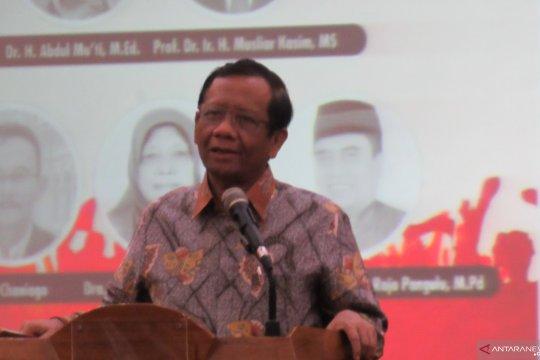Mahfud MD ingatkan masyarakat jaga persatuan dan kesatuan pascapemilu
