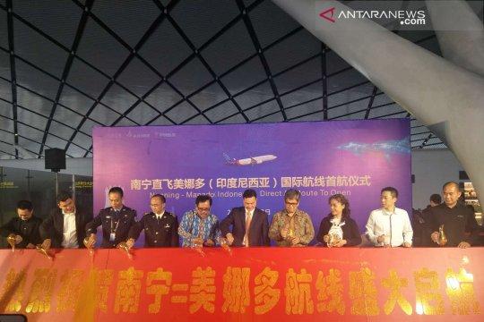 Sriwijaya buka jalur penerbangan Nanning-Manado