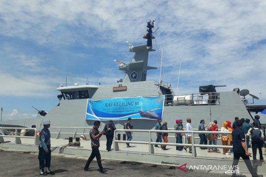 Ekspedisi kas keliling BI pulau terluar tiba di Belawan