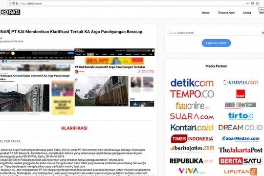 AMSI dan AJI periksa fakta Pemilu dibantu Google dan Mafindo