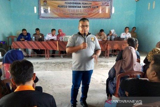 KPU Sumut sosialisasi pemilu di daerah terpencil