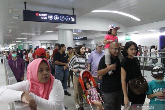 Semua stasiun bawah tanah MRT Jakarta ditutup malam ini