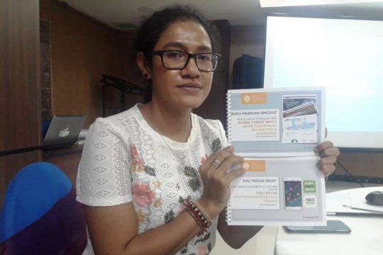 WRI dorong penggunaan aplikasi pemantau hutan bagi polhut