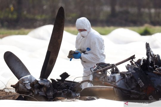 Pesawat penerjun payung jatuh di Swedia, tewaskan 9 orang