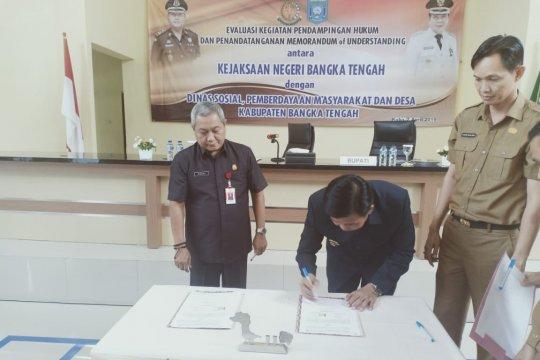 Bangka Tengah gandeng Kejari pendamping hukum penggunaan dana desa