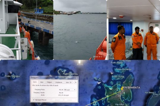 "Penumpang ""speed boat"" di perairan Maluku Tenggara ditemukan selamat"