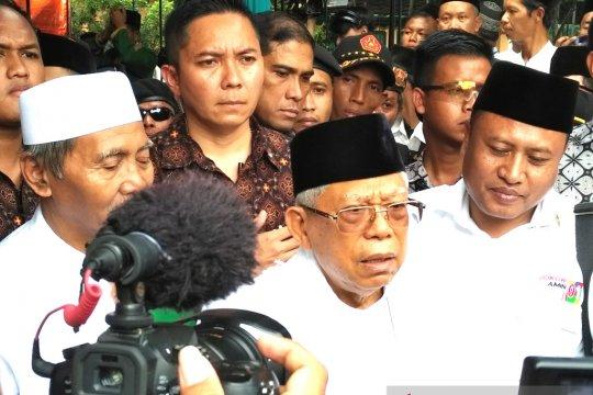 Jokowi-KH Ma'ruf Amin diharapkan unggul 20 persen