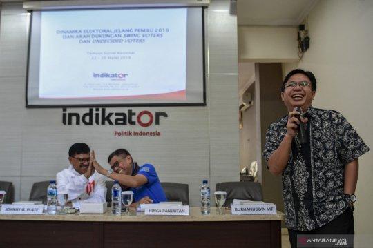 Mayoritas pemilih berpendidikan tinggi dukung Prabowo-Sandi