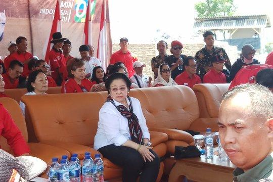 Megawati hadiri panen raya MSP di Indramayu