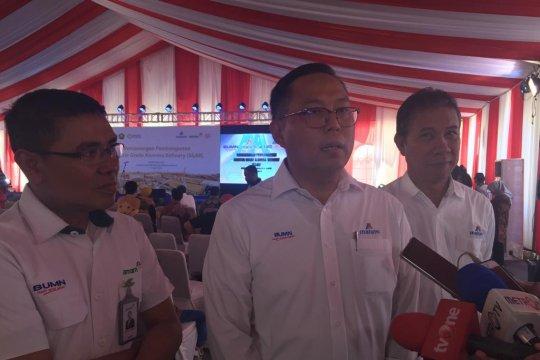 Smelter Inalum-Antam dibangun, Indonesia stop impor alumina 2022