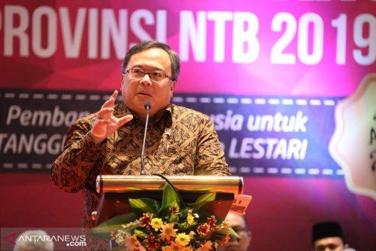 Menteri Bappenas minta NTB tidak tergantung tambang