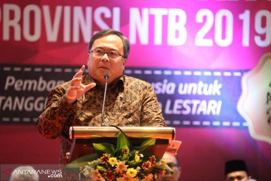 Menteri Bappenas dorong NTB percepat pulihkan ekonomi