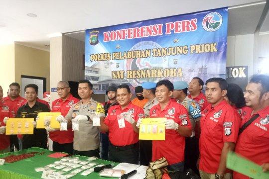 Polres Pelabuhan Tanjung Priok bekuk bandar besar sabu-sabu