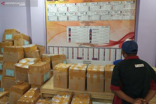 KPU Bangka Tengah kelebihan 687 surat suara Pemilu 2019