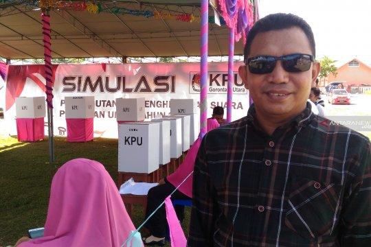 KPU Gorontalo Utara Coret Caleg Pelanggar Pidana Pemilu