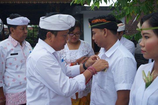 """""""Sabha Yowana"""" dikukuhkan wali kota untuk pelestarian budaya Bali"""