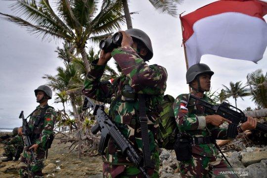 Patroli pengamanan Pulau Miangas