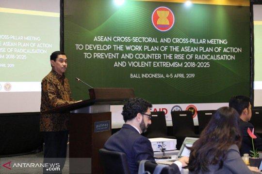 ASEAN susun rencana kerja cegah radikalisasi di Bali