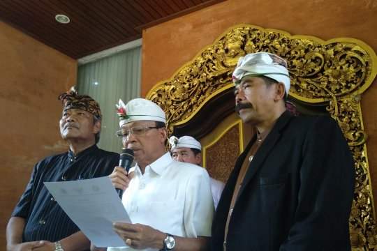 Gubernur Bali, PHDI dan MUDP imbau masyarakat gunakan hak pilih
